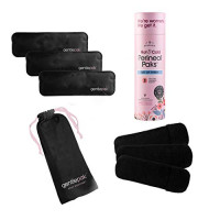 Gentlepack Reusable Perineal Ice & Heat Packs with Washable Sleeves for Postpartum, Pregnancy & Hemorrhoid Pain Relief, Multi Use Kids, Children, Muscle, Migraine, Groin, Vaginal Discomfort (3) : Beauty