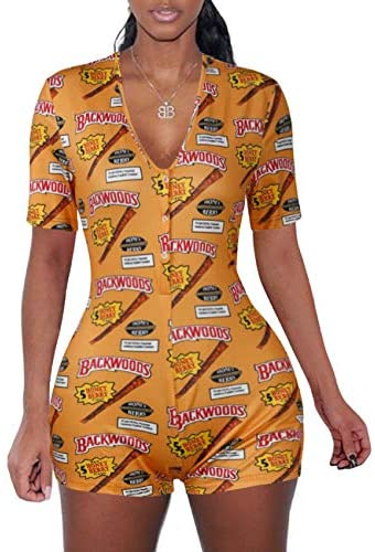 MissShorthair Sexy Onesies Pajamas Women Tank Top Short Jumpsuit Rompers One Piece Bodysuit Bodycon Rompers Overall at Women's Clothing store