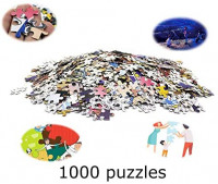 1000 Piece Puzzles for Adults, Jigsaw Puzzles Adult Puzzle Novelty Games for Family, Animal Puzzles Toys DIY Gifts Home Decor (Elephant): Toys & Games
