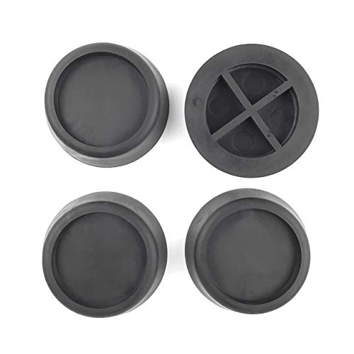 Ximoon Washer and Dryer Antivibration Pads –Ideal for Vibration Reduction and Shock Absorber - Rubber Isolation Feet Set of 4: : Industrial & Scientific