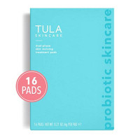 TULA Probiotic Skin Care Instant Facial Dual-Phase Skin Reviving Treatment Pads (6 pads) | Lactic Acid Pads to Exfoliate and Brighten Skin, Instant Facial: Beauty