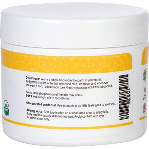 BeeFriendly Face and Eye Cream All Natural USDA Certified Organic Moisturizer, All In One Face, Eye, Neck, Decollete Cream, 2 oz: Beauty