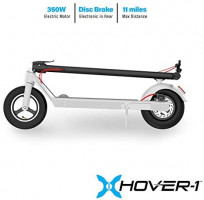 Hover-1 Engine Electric Scooter Foldable for Adults and Kids with Foot Control Accelerator and 10 inch Tires 350W Brushless Motor : Sports & Outdoors