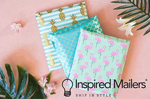 Inspired Mailers - Poly Mailers 14.5x19 - Wild Cheetah - Large Mailing Envelopes - Polymailers (14.5x19, 50 Pack) : Office Products