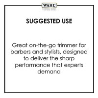 Wahl Professional Black Peanut Hair and Beard Clipper Trimmer with a Powerful Rotary Motor for Professional Barbers and Stylists - Model 8655-200: WAHL Professional: Beauty