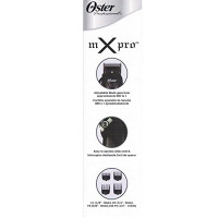 Oster MX Pro All Purpose High Speed Adjustable Blade Hair Clipper Cut Wet-Dry M X + 10 Piece Comb Set: Beauty