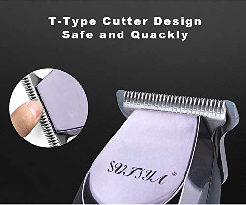 Mens Hair Trimmers, Hair Cutter for Men/Kids/Baby/Barber Hair Clippers, Haircut Barber Trimmer Kit, professional Hair Clipper Kit with Guide Combs Brush: Beauty