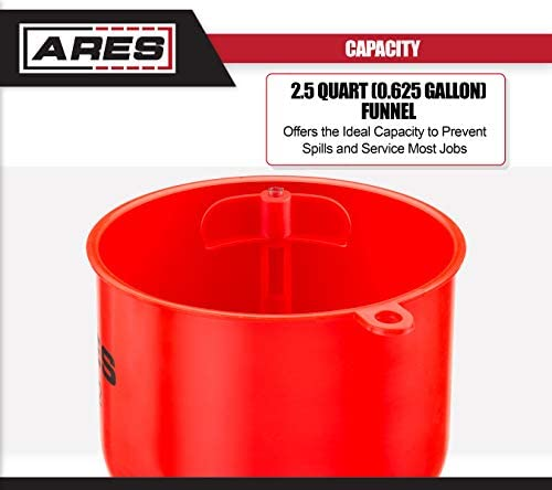 ARES 71502 - Spill Proof Coolant Filling Kit - Eliminates Trapped Air Pockets and Squeaky Belts Due to Overflow: Automotive