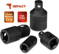 4 Pieces - EPAuto Impact Socket Adapter and Reducer Set, Cr-V: Industrial & Scientific