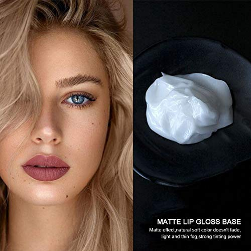 URMAGIC Lip Gloss Bas, Matte Lip Gloss Primer, Lip Gloss Primer Oil Material Lip Modification Primer, Non-stick Lip Gloss Primer For Lip Gloss Primer Lip Gloss 40ml For DIY Handmade Lipstick : Beauty