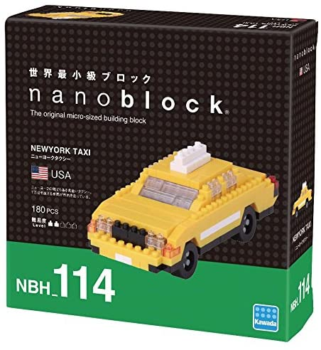 Nanoblock Empire State Building Kit: Toys & Games