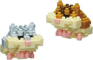 Nanoblock Rabbit Building Kit: Toys & Games