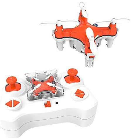 SKYKING F001 Mini Drone,Nano RC Drone for Kids,Portable Pocket Mini Quadcopter with 3D Flips/Headless Mode/2 Speed/2.4Ghz 6 Axis Gyroscope for Teenager and Beginners,Children's Day Gift (Orange): Toys & Games