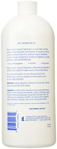 Free & Clear Liquid Cleanser Refill 32 oz ( Pack of 2 ): Health & Personal Care