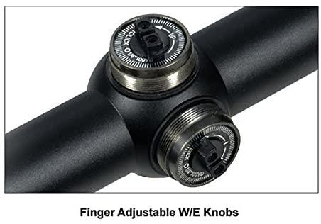 "UTG 4X32 1"" Hunter Scope, Mil-dot, Airgun Rings, Adj@35 Yds : Airsoft Gun Scopes : Sports & Outdoors"
