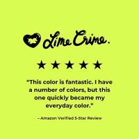 Lime Crime Velvetines Liquid Matte Lipstick, Saint - Cranberry Red- French Vanilla Scent -Long-Lasting Velvety Matte Lipstick - Won't Bleed or Transfer - Vegan : Beauty