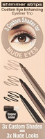Physicians Formula Shimmer Strips Custom Eye Enhancing Eyeliner Trio Universal Looks Collection, Nude Eyes: Beauty