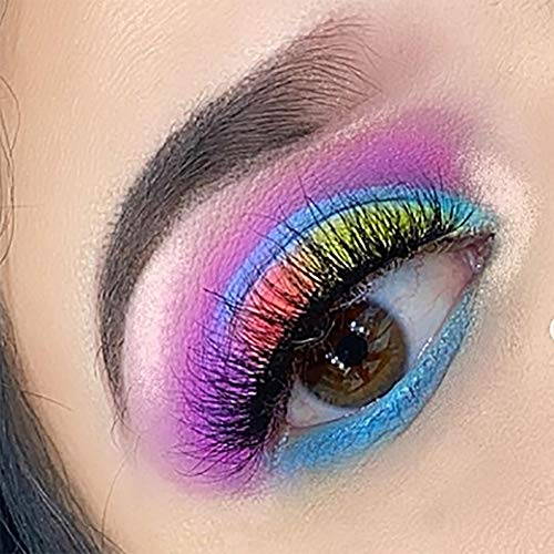 Makeupdepot High Pigmented Pro Makeup Palette Neon Color of 39 Shades Metallic and Shimmers Eyeshadow Rainbow Eye Shadows : Beauty