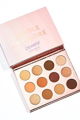 ColourPop Pressed Powder Shadow Palette - Double Entendre : Beauty