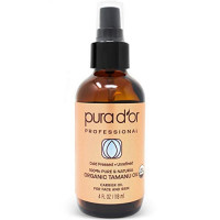 PURA D'OR Tamanu Oil (4oz / 118mL) USDA Organic Certified 100% Pure Natural Hexane Free Premium Grade Moisturizer - Helps Reduce Appearance of Scars from Psoriasis, Eczema & Acne (Packaging may vary): Beauty