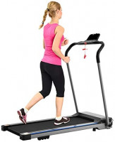 FYC Folding Treadmill for Home Portable Electric Treadmill Running Exercise Machine Compact Treadmill Foldable for Home Gym Fitness Workout Jogging Walking, No Installation Required (JK1608E-1) : Sports & Outdoors