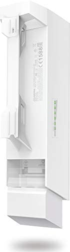TP-Link Long Range Outdoor Wifi Transmitter – 2.4GHz, 300Mbps, High Gain Mimo Antenna, 5km+ Point to Point Wireless Transmission, PoE Powered w/ PoE Adapter Included, WISP Mode (CPE210): Computers & Accessories