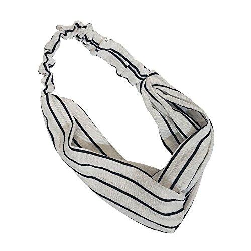 5 Pack Headbands Headwrap Hair Band Elastics Hair Accessories For Women Girl (F43) : Beauty