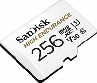 SanDisk 128GB High Endurance Video MicroSDXC Card with Adapter for Dash Cam and Home Monitoring systems - C10, U3, V30, 4K UHD, Micro SD Card - SDSQQNR-128G-GN6IA: Computers & Accessories