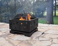 """Pleasant Hearth Stargazer Deep Bowl 26"""" Fire Pit : Garden & Outdoor"""
