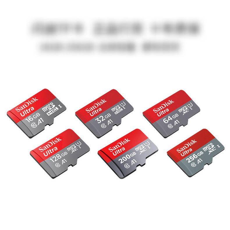 16/32/64/128GB MicroSDHC Memory Card