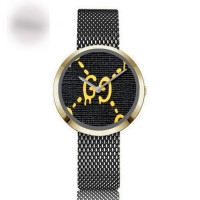 Popular Famous Steel Mesh Belt Watch