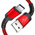 Flexible and Durable USB A 2.0 to USB-C Fast Charger