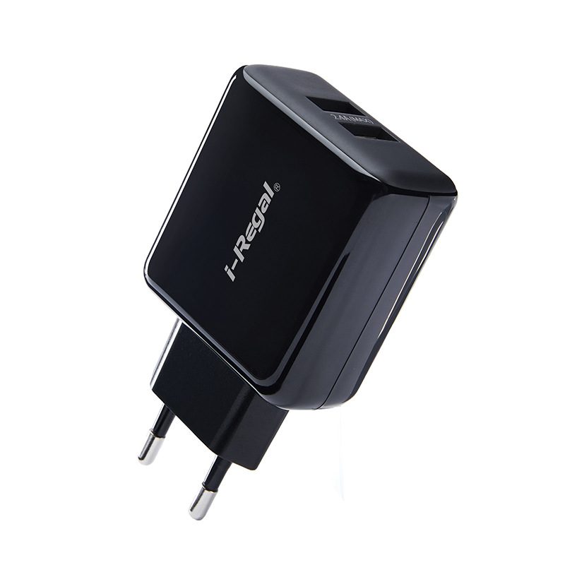 2.4A Dual Port Wall Charger,