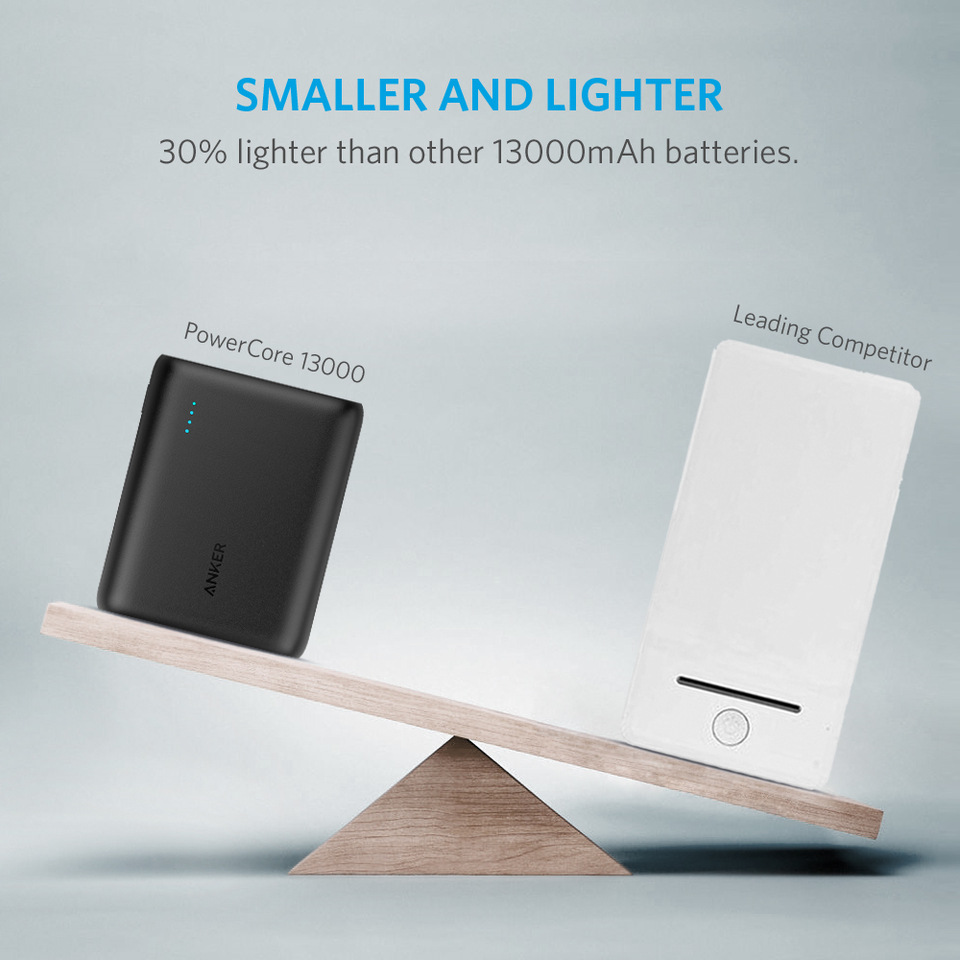 13000mAh External Battery Pack for All Smartphones