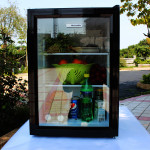 62L Mini Fridgewith Glass Door