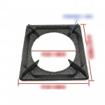 Rectangular Windproof Embedded Bracket for Gas Stove