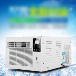10,000 BTU Window Air Conditioner with Remote, EER 9.5, 400-450 Sq. Ft. Coverage