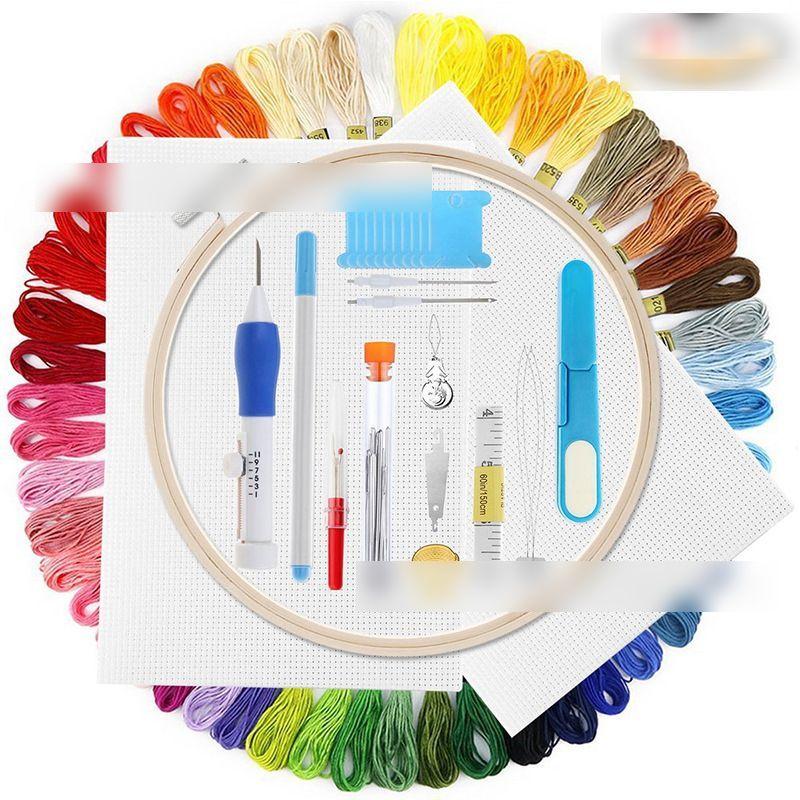 Embroidery Line Embroidery Thread Set Embroidery Tools Rainbow Color Embroidery Thread Embroidery Thread Set