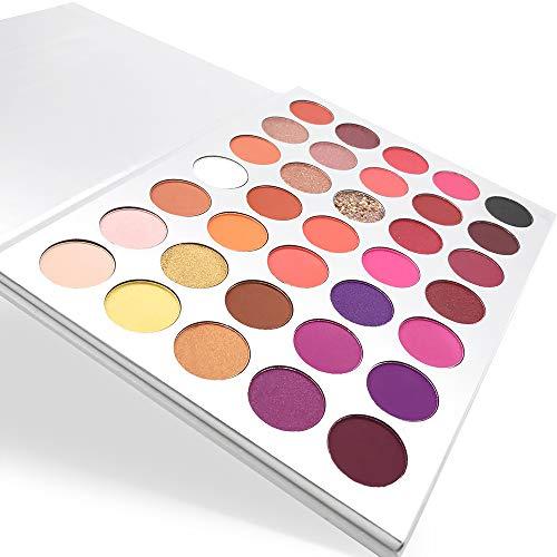 35 Colors Shimmer Pearl Matte Eyeshadow Palette Eye Makeup
