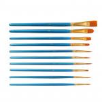 10 Sticks Painter Friend Professional Artist Brush