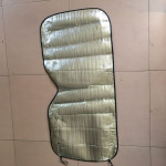 Car  Sun Block 130*60 Pearl Cotton Sun Block Front Block Car Sunscreen Foam Car Sun Visor