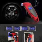 Digital Tire Pressure Gauge 150 PSI 4 Settings Car Truck Bicycle Backlit