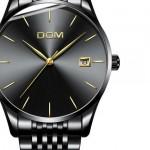 Men's Stainless Steel      Waterproof Quartz  Watch