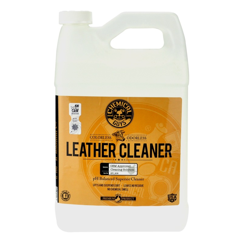 Leather Cleaner and Conditioner Complete Leather Care Kit