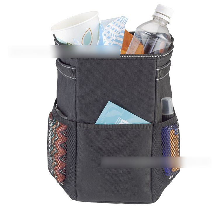 Waterproof Garbage Bag for Car with Storage Pockets