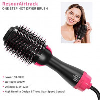 Hair Dryer & Volumizer,Negative Ion Hot Air Brush, Styling Hair Dryer Brush,Ceramic Electric Blow Dryer Brush for All Hair Types: Health & Personal Care