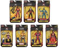 Deadpool Marvel Legends Wave 3 Set of 7 Figures (Strong Guy BAF): Toys & Games