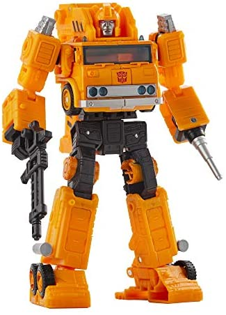 Transformers Toys Generations War for Cybertron: Earthrise Voyager WFC-E10 Autobot Grapple Action Figure - Kids Ages 8 and Up, 7-inch: Toys & Games
