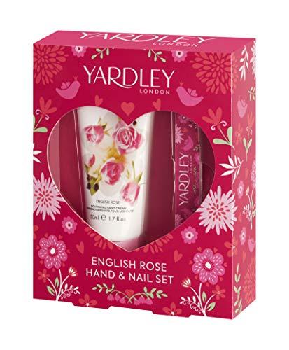 Yardley London Rose Hand Cream Gift Set with Nail File : Beauty