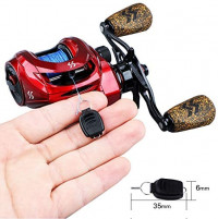 Sougayilang Baitcasting Reels, Fishing Reels with 8:1 Gear Ratio Super Smooth Power Baitcaster Reel, 9 + 1 Ball Bearings Anti-Corrosion Bait Caster Reel-Right Hand : Sports & Outdoors